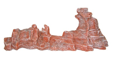 URS Ornament Rocky Outcrop Jaggered Reptile Accessory Red - 2 Sizes