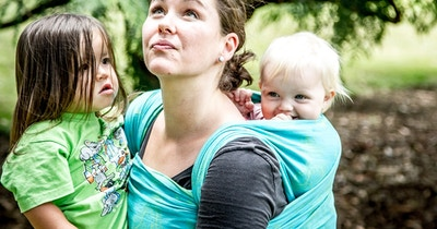 Why babywearing is normal