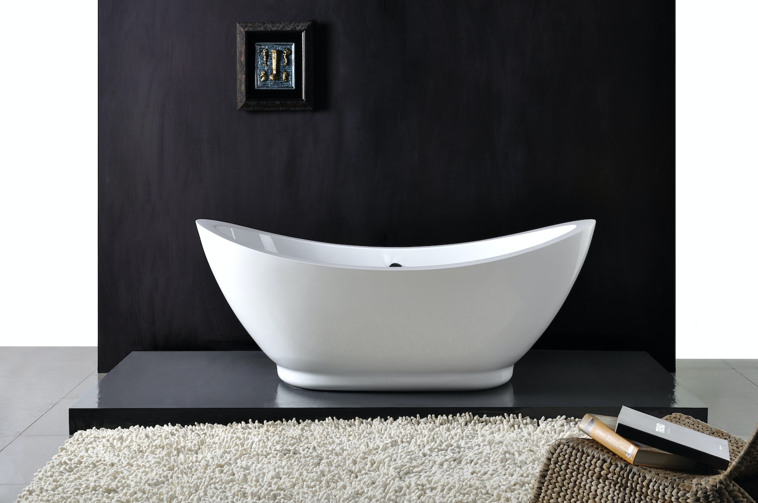 Chanel small freestanding bath freestanding baths for for Bathroom decor osborne park