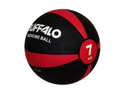 Boutique Medical 7kg Rubber Medicine Ball Weight Home Sports Gym Workout Exercise