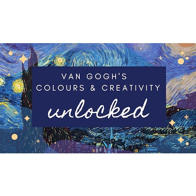 Iconic Colours Experience- VAN GOGH COLOURS AND CREATIVITY UNLOCKED Group Worskshop