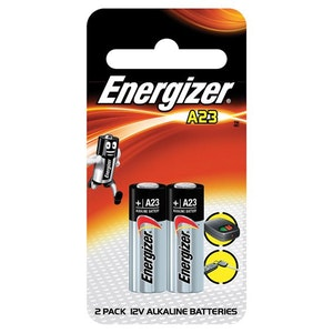 Energizer Batteries Replacement Remote Control Battery Twin Pack 12v Mini Alkaline Battery A23BP2