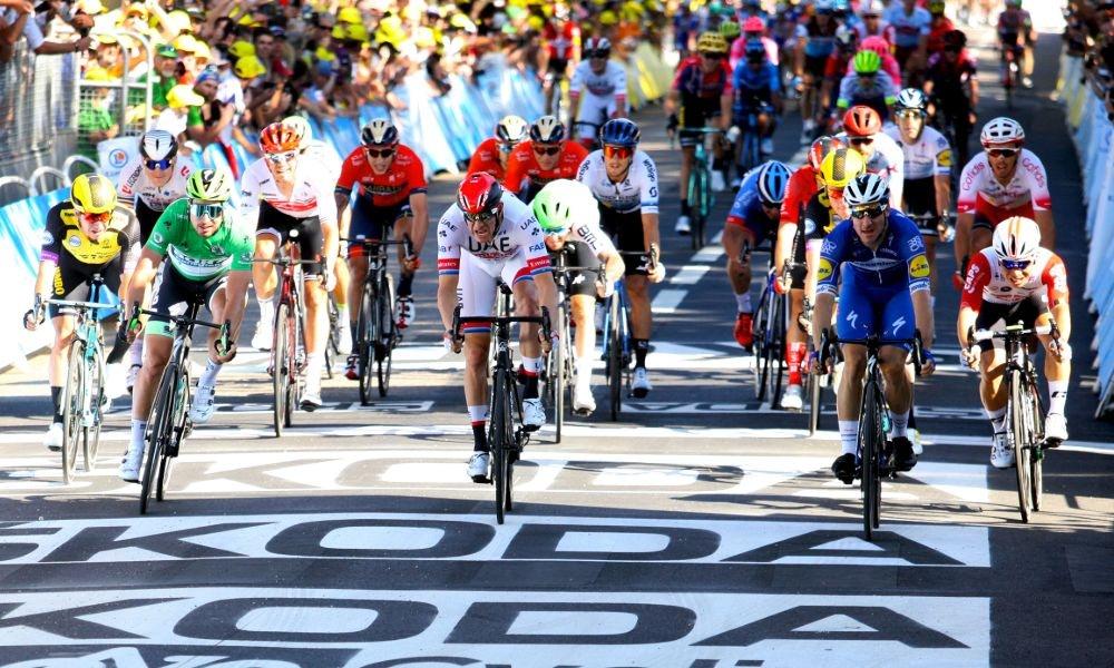 Elia Viviani Completó su Colección de Grand Tours - Esta fue la Cuarta Etapa del Tour.