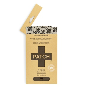 Patch Activated Charcoal 'On-The-Go' - 4 pack