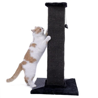 House of Pets Delight 82cm Ultimate Cat Scratching Post in Black