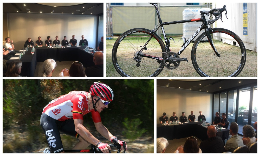 60 Staff, 27 Riders, 8 Mechanics, 1 Team - Lotto Soudal