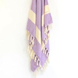Turkish Towel - ZigZag Lilac