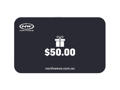 $50 Northwave Australia e-Gift Card