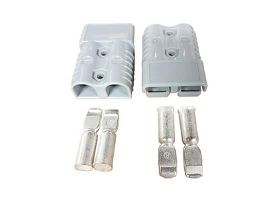 120 amp Anderson Style Plug x 2 (Pair) with Terminals