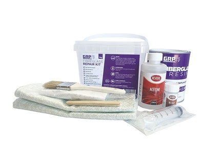 Fibreglass Repair Kit 1kg - Boats / Surfboards / Home / Cars & Caravans