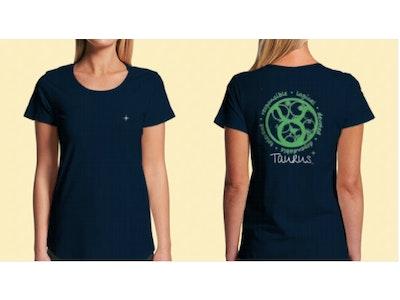Interstellar Beverages Horoscope [FEMALE] T-Shirt Taurus