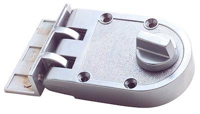 RiteFit N203SC Single Cylinder Deadlock Satin Chrome Plate