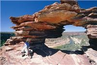 Natures Window Kalbarri National Park Image supplied courtesy Tourism Western Australia