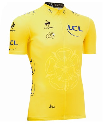 The coveted Tour de France yellow jersey