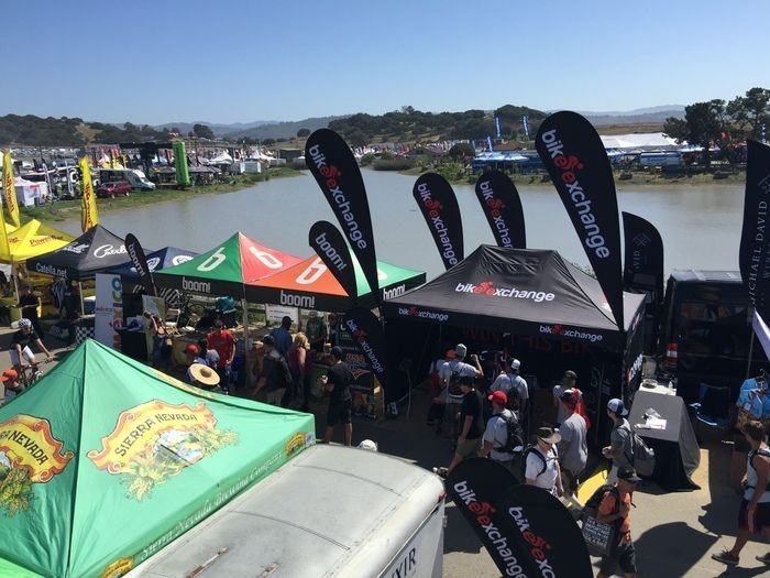 BikeExchange at Sea Otter Classic 1