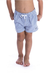 Beau Hudson Costal Pinstripe Shorts