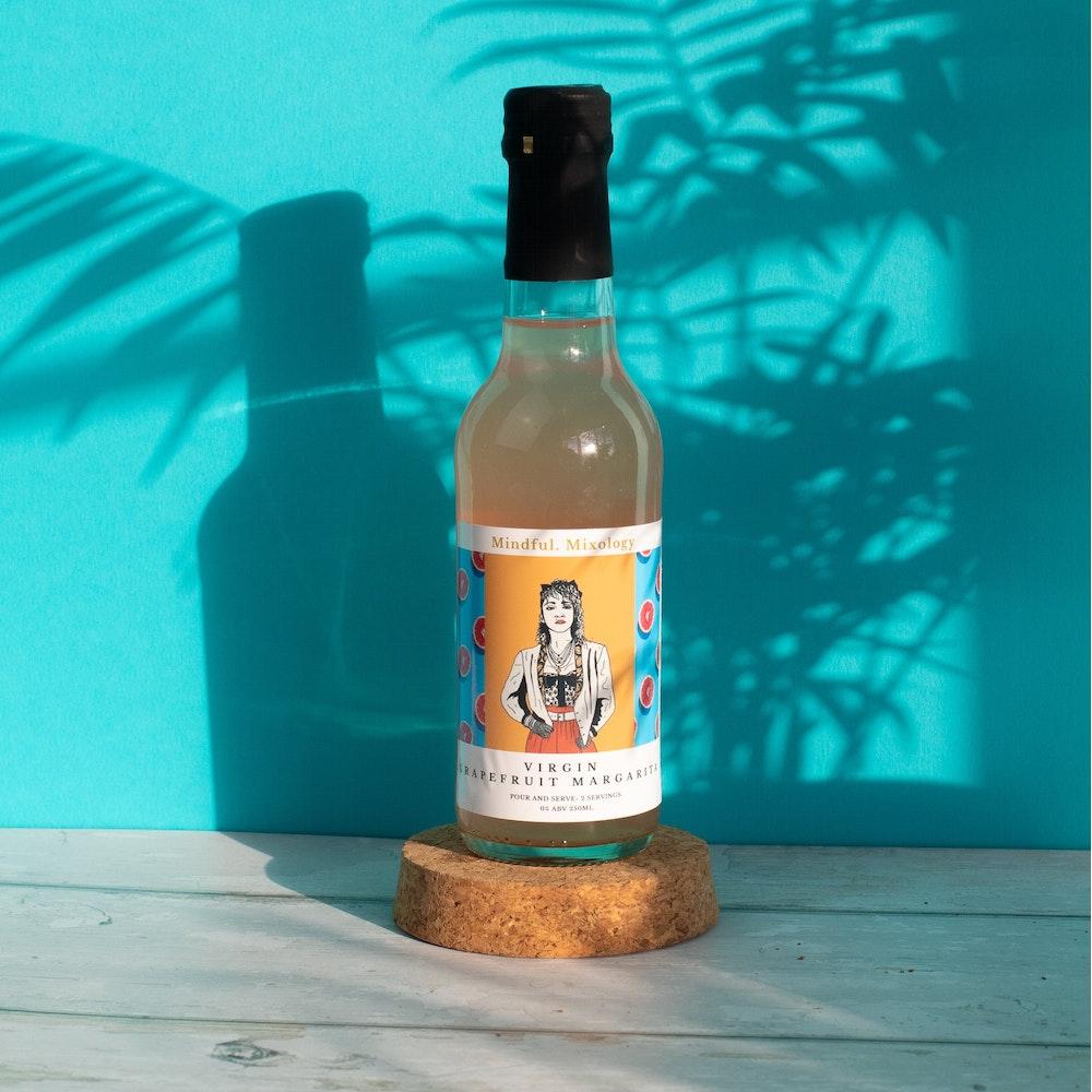 Mindful Mixology 0% Abv Grapefruit Margarita 250ml- 'madonna'