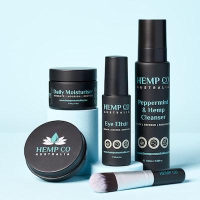 Hemp Co Australia  Detox, Purify, Restore & Hydrate   Full Face Pack