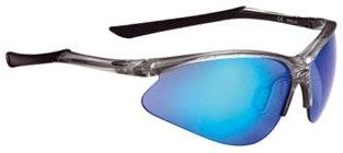 Attacker Sport Glasses - Crystal Silver/Black  - BSG-29.2946