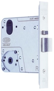 """Lockwood Selector universal primary 4772SS 89mm mortice lock """"Body Only"""" in stainless steel finish"""