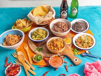 Taco Feast, serves 2-4