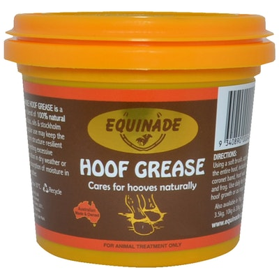 Equinade Hoof Grease Prevents Cracked Brittled Hooves - 6 Sizes