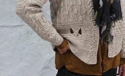 Signatur Handknits Split Texture Jacket