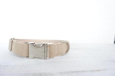 Barker & Bone Dog Collar | Cream