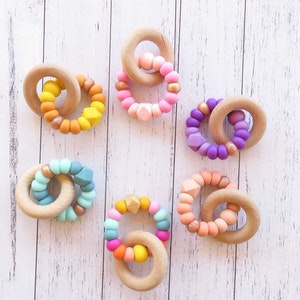 Cheeky Toes™ CHARMED Teether | ROSE GOLD Collection
