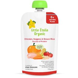 Max Biocare Little Etoile Organic - Chicken, Veggies and Brown Rice