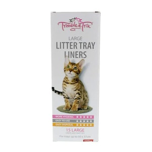 Litter Liners Large 50 x 37cm 15 Pack