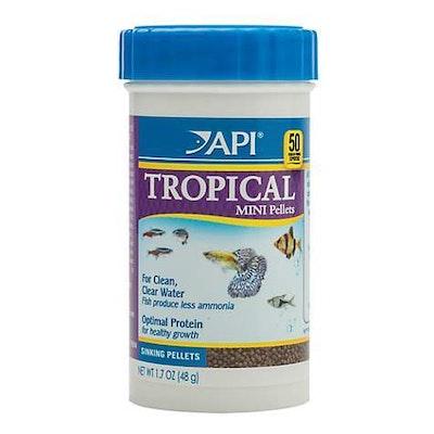 API Tropical Mini Pellets 48G