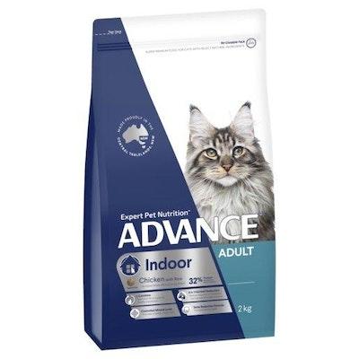 Advance Dry Cat Food Adult Indoor 2kg