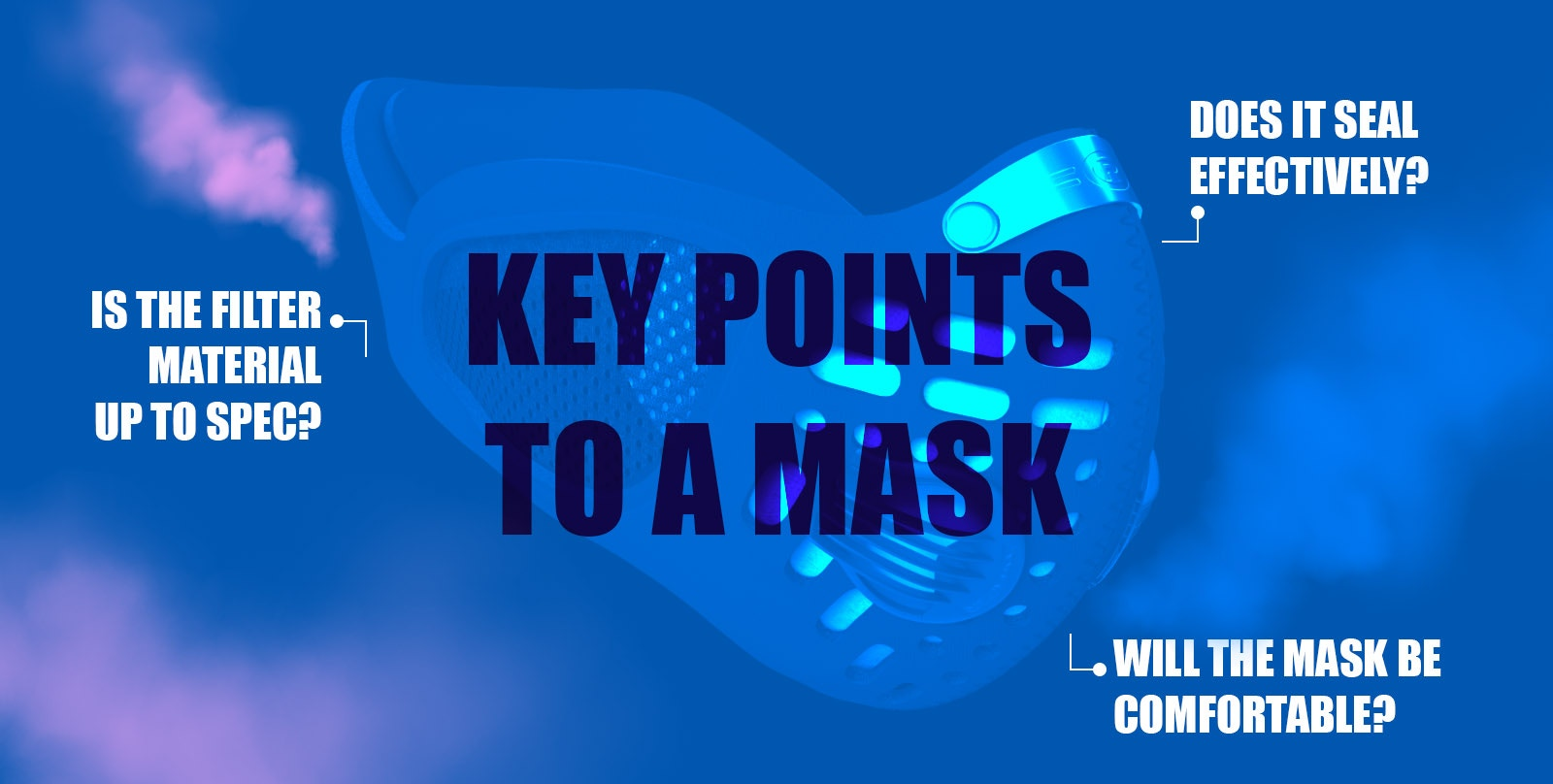 Respro-KEY POINTS TO A MASK