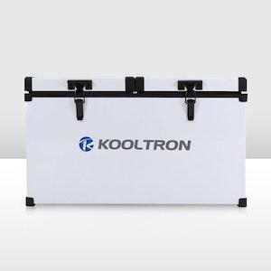 Kooltron 58L Low Profile Dual Compartment Fridge / Freezer Camping 12v 24v 240v