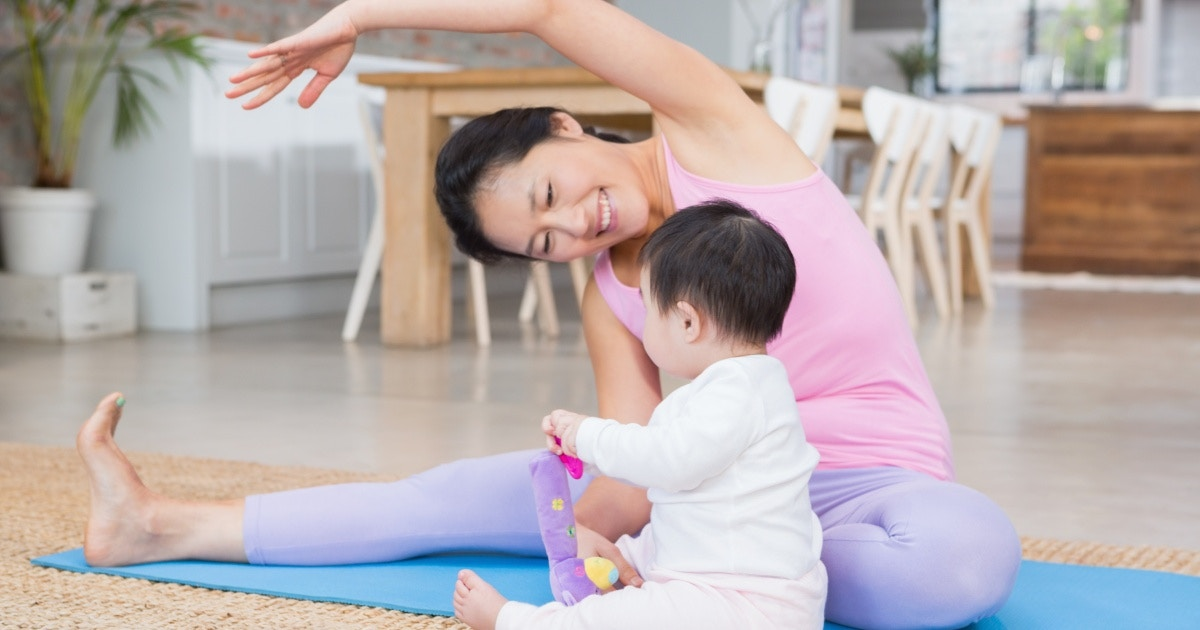 Yoga: The mama miracle for the post-partum body