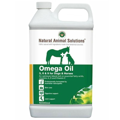 Natural Animal Solutions Nas Omega Oil Dog & Horse Treatment Oil - 2 Sizes