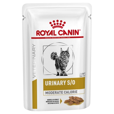 Royal Canin Vet Urinary Moderate Wet Cat Food 85G