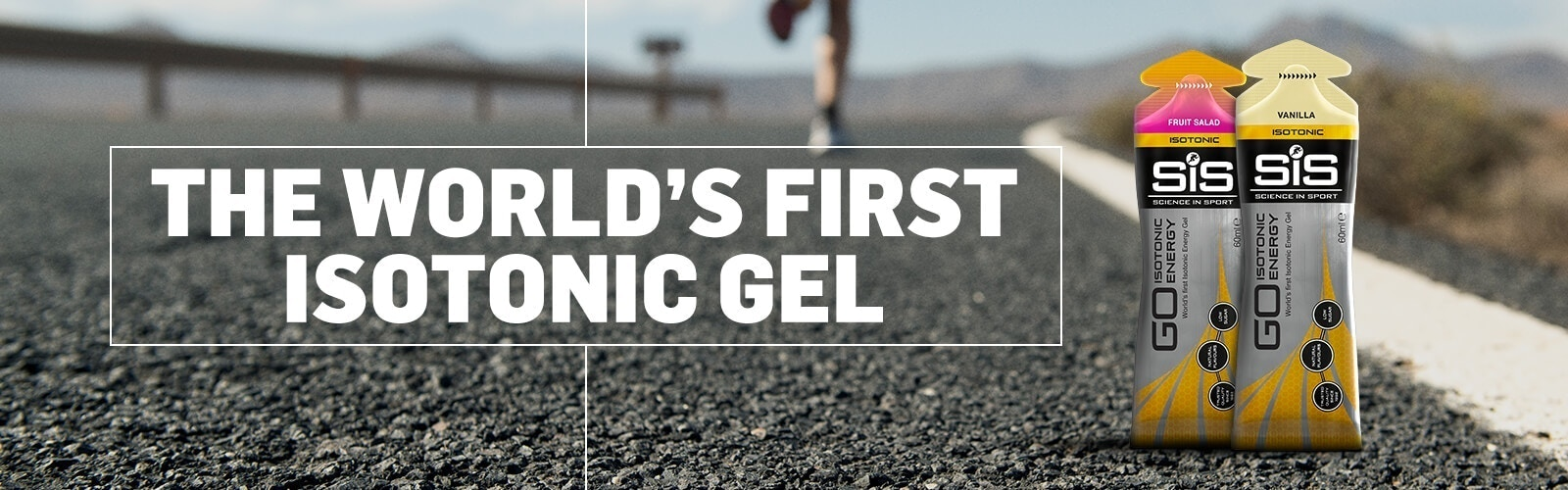 THE WORLD'S FIRST ISOTONIC ENERGY GEL
