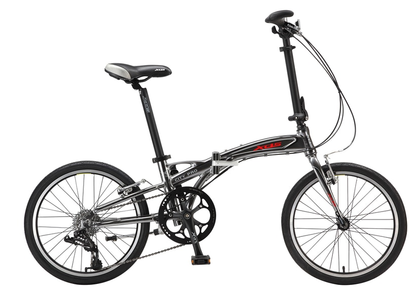 XDS City Pro Folding Bike, Folding Portable Bikes
