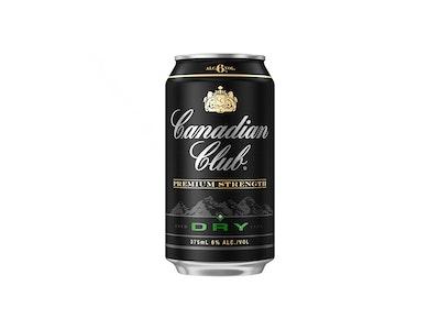 Canadian Club & Dry Premium 6% Can 375mL