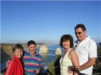 Around the bend(s) with Ross, Jo, Carol  and Bill as they caravan the Great Ocean Road