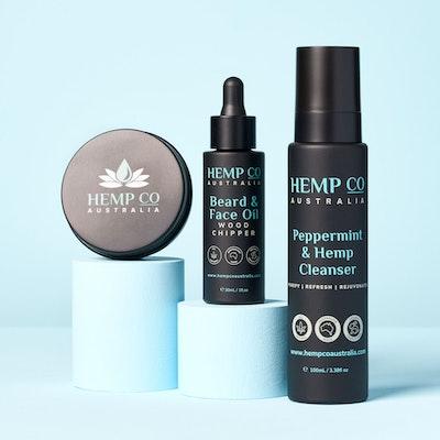 Hemp Co Australia  Beard & Face Care Pack
