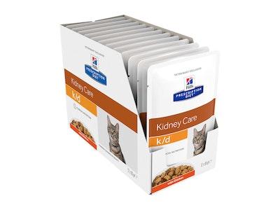 Hill's Prescription Diet Cat k/d Kidney Care Chicken 12 x 84g