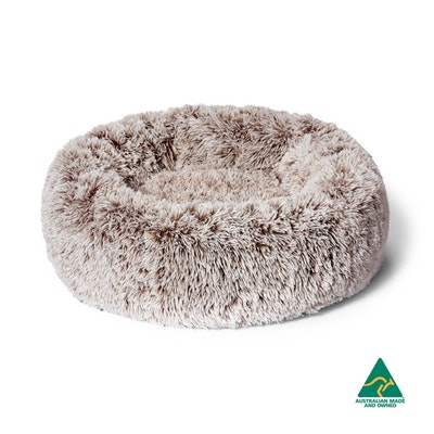 SNOOZA Calming Soothing Cuddler Dog Bed Mink - 3 Sizes