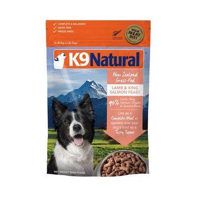 K9 Natural Lamb & King Salmon 500G
