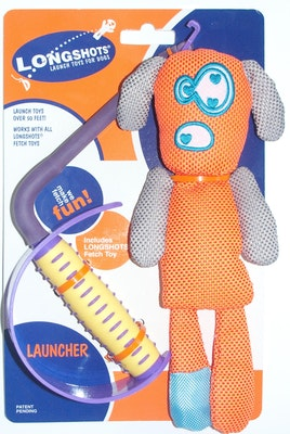 Ahs Longshots Ballistic Moondoggie Set Interactive Dog Toy - 2 Colours