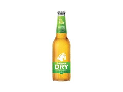 Carlton Dry Lime Peels Bottle 330mL
