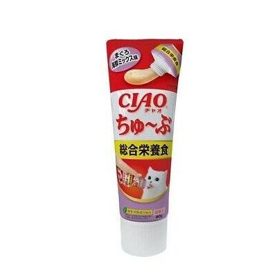 CIAO - Tube Complete Nutrition Paste Tuna Recipe