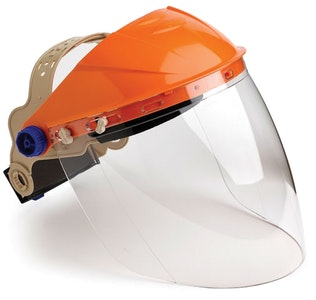 Face Shield - Clear ABS Browguard Lightweight